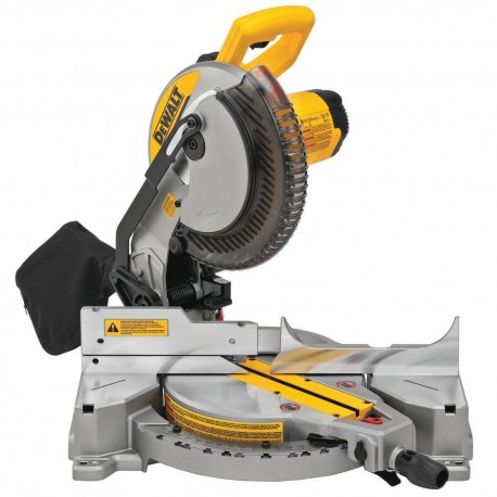 DEWALT DWS713 15 AMP ELECTRIC SINGLE-BEVEL COMPOUND MITER SAW
