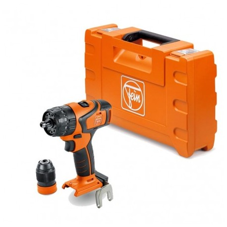 FEIN ASB 18 QC SELECT+ CORDLESS COMBI DRILL BODY ONLY IN CARRY CASE