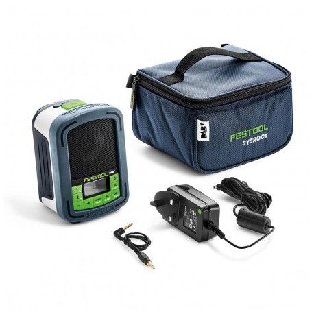 FESTOOL 202112 SYSROCK DIGITAL & BLUETOOTH JOBSITE RADIO BR10 FM / DAB+ GB