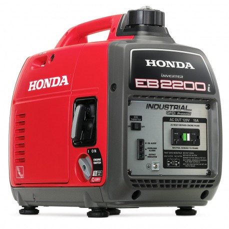 HONDA EB2200I 2,200-WATT 121CC RECOIL START PORTABLE INVERTER GENERATOR