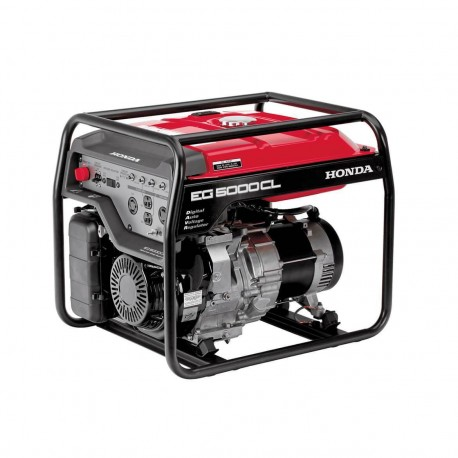 HONDA EG5000 389CC 5,000-WATT 120/240-VOLT ELECTRIC START GASOLINE PORTABLE GENERATOR - SCRATCH AND DENT