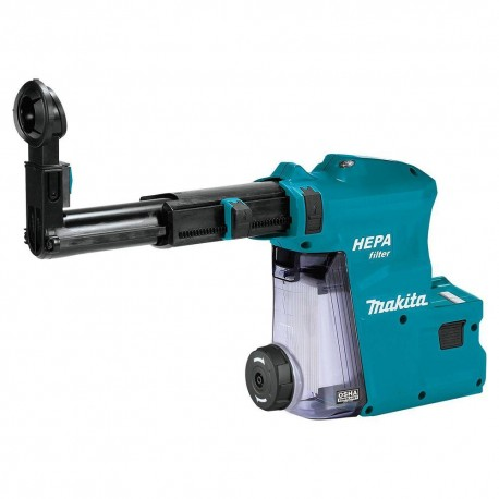 MAKITA DX08 18 VOLT 1 INCH HEPA FILTER ROTARY HAMMER DUST EXTRACTOR ATTACHMENT