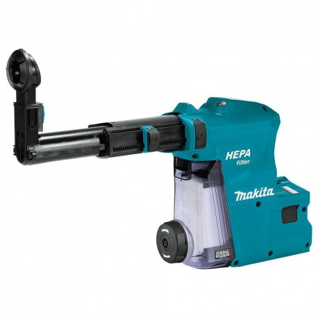 MAKITA DX09 18 VOLT 1 INCH HEPA FILTER ROTARY HAMMER DUST EXTRACTOR ATTACHMENT