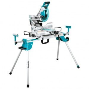 MAKITA LS1019LX 10-INCH DUAL-BEVEL SLIDING COMPOUND MITER SAW W/ LASER AND STAND