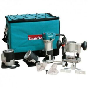 MAKITA RT0701CX3 1-1/4 HP 10,000-30,000 RPM VARIABLE SPEED COMPACT ROUTER KIT