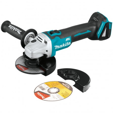 MAKITA XAG09Z 18-VOLT 5-INCH CORDLESS CUT-OFF/ANGLE GRINDER - BARE TOOL