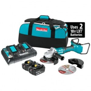 MAKITA XAG12PT1 36-VOLT LXT 7-INCH PADDLE SWITCH CUT-OFF/ANGLE GRINDER KIT