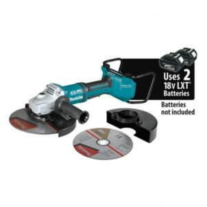 MAKITA XAG23ZU1 36-VOLT 9-INCH X2 BRUSHLESS CUT-OFF ANGLE GRINDER - BARE TOOL