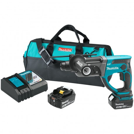 MAKITA XRH03T 18-VOLT 7/8-INCH 5.0AH CORDLESS LITHIUM-ION ROTARY HAMMER KIT