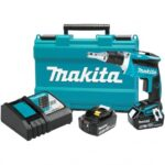 MAKITA XSF03T 18-VOLT 1/4-INCH 5.0AH HEX LITHIUM-ION DRYWALL SCREWDRIVER KIT