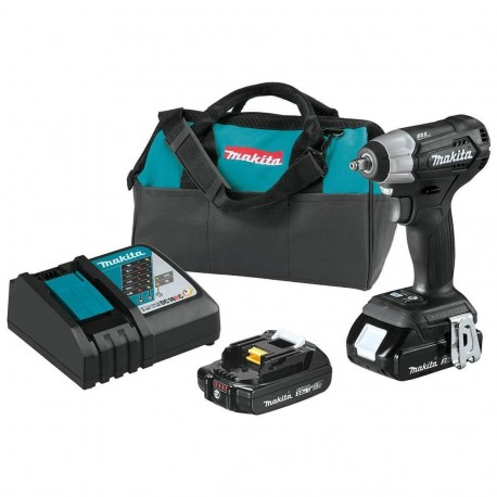 MAKITA XWT12RB 18-VOLT 2.0AH LXT LITHIUM-ION SUB-COMPACT IMPACT WRENCH KIT