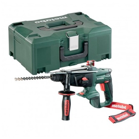 METABO KHA 18 LTX SDS+ ROTARY HAMMER DRILL BODY ONLY IN METALOC CASE
