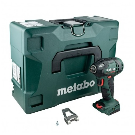 METABO SSD 18 LTX 200 BL BRUSHLESS IMPACT DRIVER BODY ONLY IN METALOC CASE