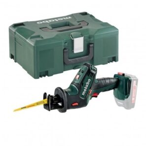 METABO SSE 18 LTX COMPACT SABRE SAW BODY ONLY IN METALOC CASE