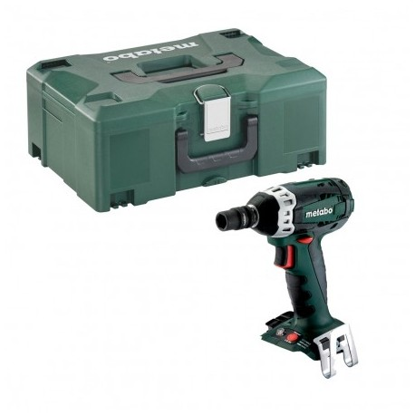 "METABO SSW 18 LTX 200 1/2"" IMPACT WRENCH BODY ONLY IN METALOC CASE"