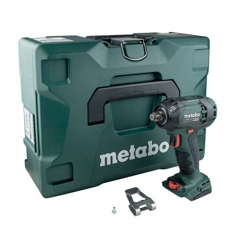 "METABO SSW 18 LTX 300 1/2"" BL IMPACT WRENCH BODY ONLY IN METALOC CASE"