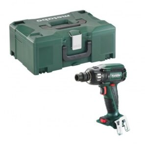 """METABO SSW 18 LTX 400 BL BRUSHLESS 1/2"""" IMPACT WRENCH HT BODY ONLY IN METALOC CASE"""