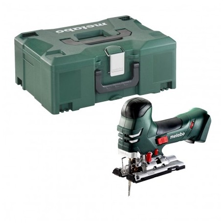METABO STA 18 LTX 140 BARREL GRIP 18V JIGSAW BODY ONLY IN METALOC CASE