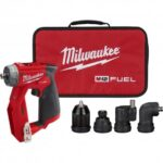 MILWAUKEE 2505-20 M12 FUEL BRUSHLESS INSTALLATION 4-IN-1 DRILL/DRIVER -BARE TOOL