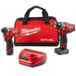 MILWAUKEE 2596-22 12-VOLT 2-TOOL DRILL DRIVER AND HEX IMPACT DRIVER COMBO KIT
