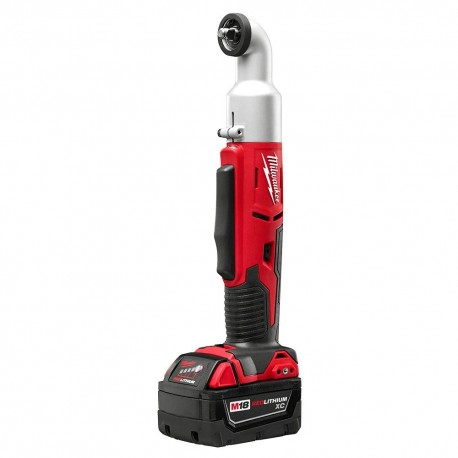 "MILWAUKEE 2668-22 M18 18V 2-SPEED 3/8"" RIGHT ANGLE IMPACT WRENCH W/ BATTERIES"