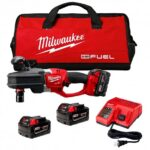 MILWAUKEE 2708-22 M18 FUEL 18-VOLT HOLE HAWG RIGHT ANGLE DRILL W/ BATTERIES