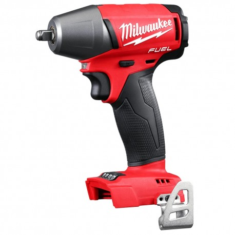 """MILWAUKEE 2754-20 M18 FUEL 18V 3/8"""" COMPACT IMPACT WRENCH KIT W/ BELT CLIP - BARE TOOL"""