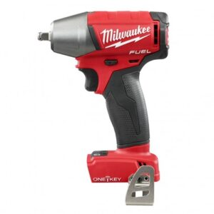 """MILWAUKEE 2758-20 M18 FUEL 18V 3/8"""" COMPACT IMPACT WRENCH KIT W/ CLIP & ONE KEY - BARE TOOL"""