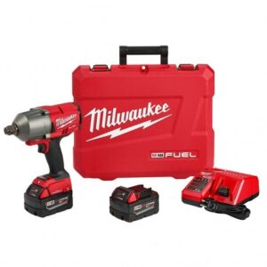 MILWAUKEE 2864-22 18-VOLT 3/4-INCH FRICTION RING HIGH TORQUE IMPACT WRENCH KIT
