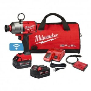 MILWAUKEE 2865-22 M18 FUEL 18 VOLT 7/16 INCH HEX UTILITY IMPACT WRENCH KIT