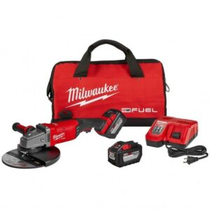 MILWAUKEE FUEL M18 2785-22HD 18-VOLT 7/9-INCH 2-BATTERY LARGE ANGLE GRINDER KIT