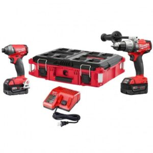 MILWAUKEE FUEL M18 2897-22PO 2-TOOL HAMMER DRILL AND IMPACT DRIVER COMBO KIT